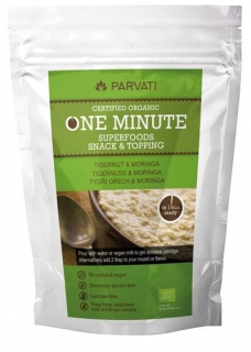 ONE MINUTE SUPERFOODS SNACK & TOPPING - TYGŘÍ OŘECH & MORINGA